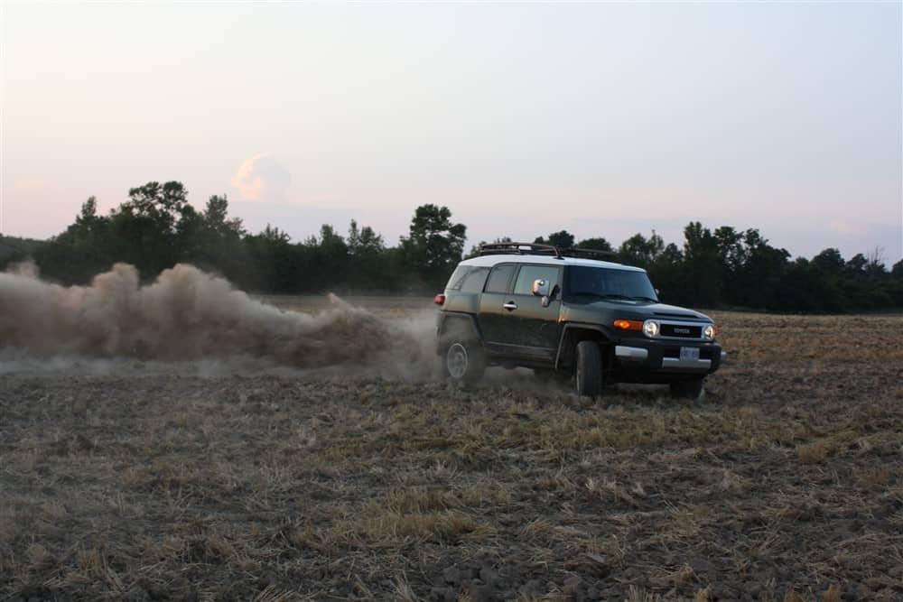 2012 Toyota FJ Cruiser In The Fields