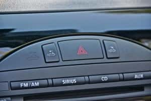 2012 Mazda MX-5 PRHT buttons