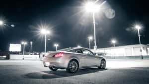 2012 Infiniti G37xS rear 1/4