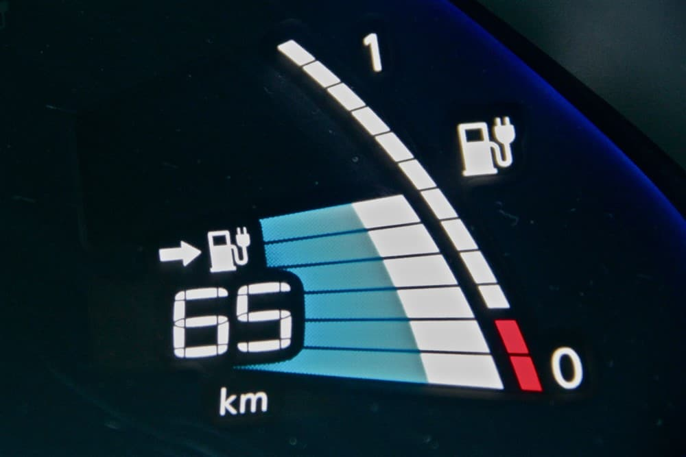 2012 Nissan Leaf range indicator
