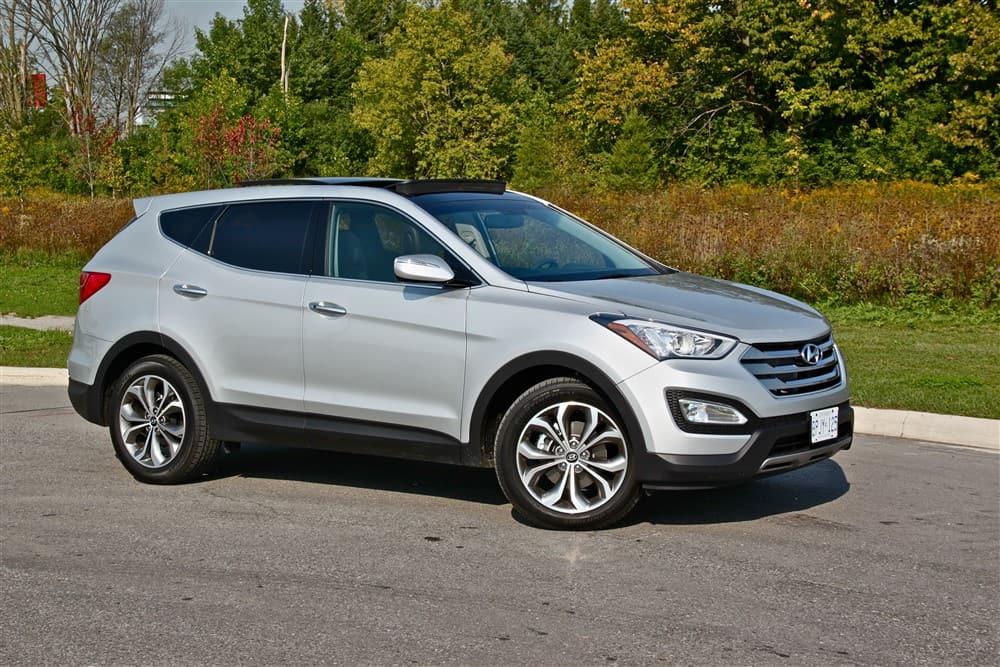 2013 Hyundai Santa Fe 2.0T front 1/4