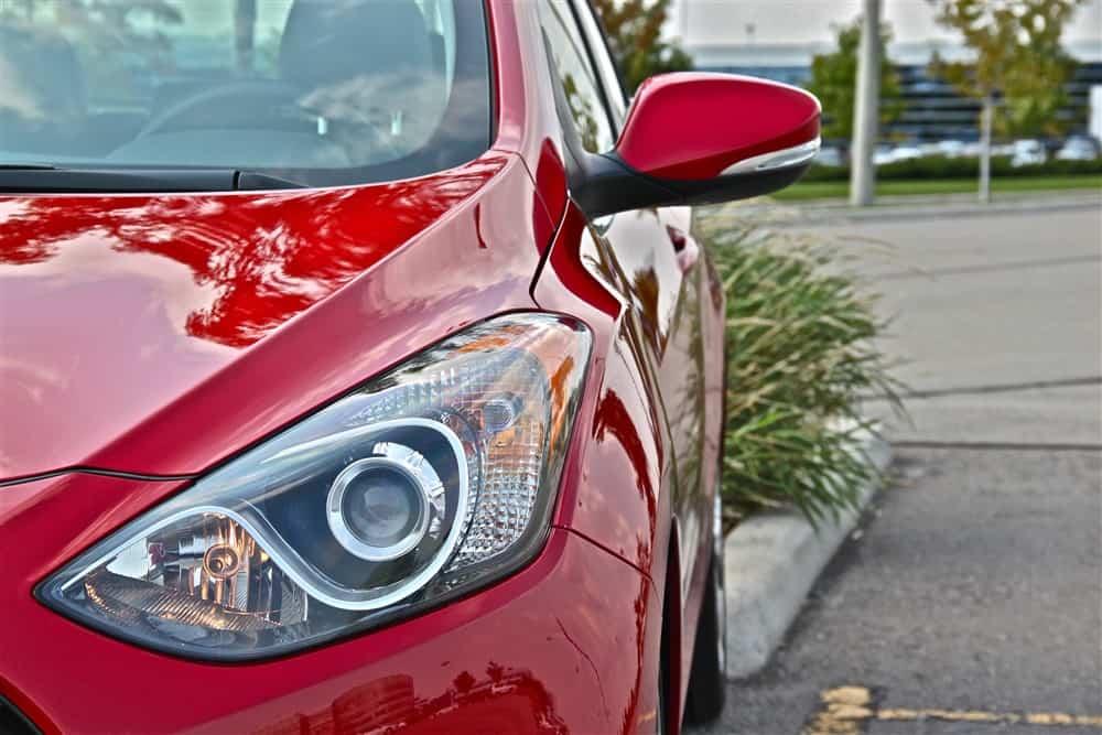 2013 Hyundai Elantra GT headlight