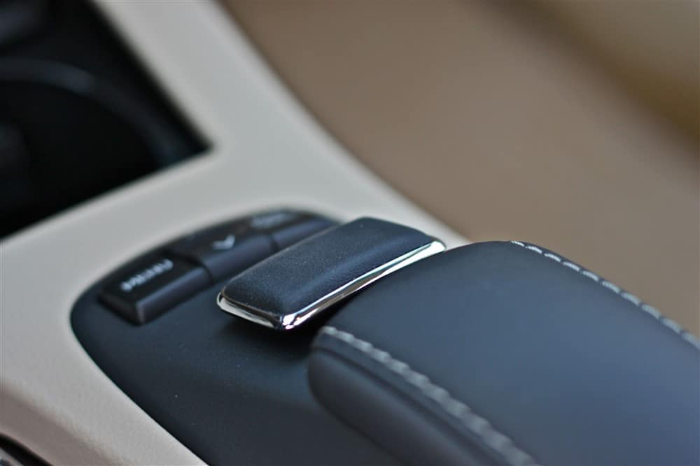 2013 Lexus ES350 RTI interface