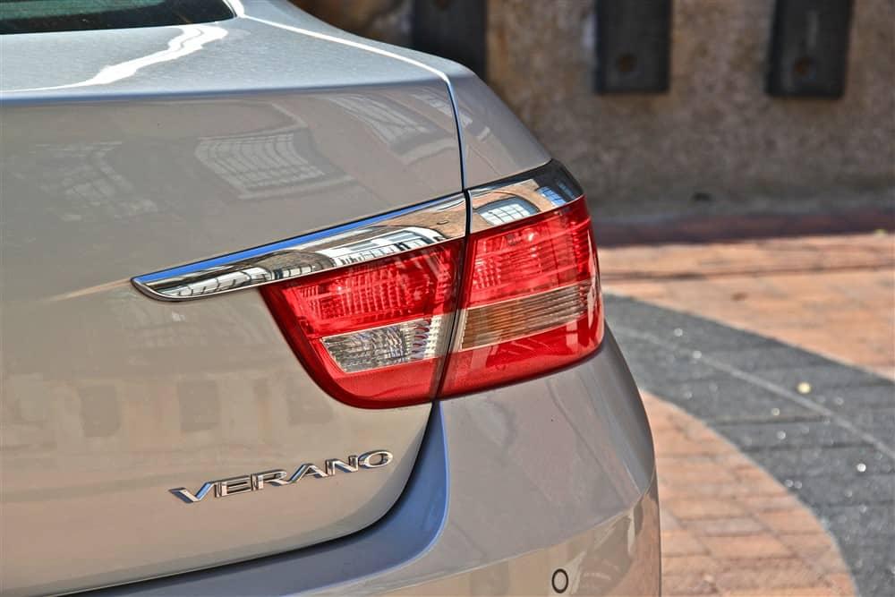 2012 Buick Verano taillight