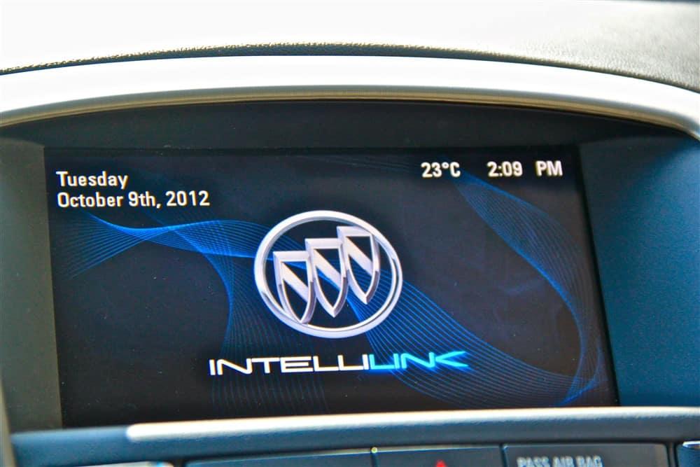 2012 Buick Verano IntelliLink