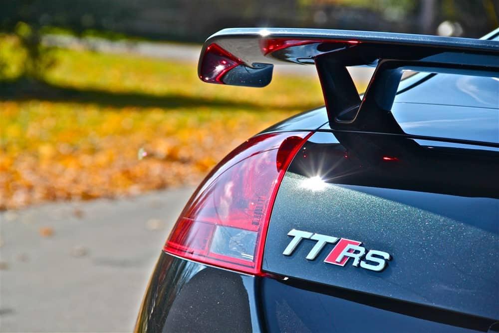 2012 Audi TT RS emblems