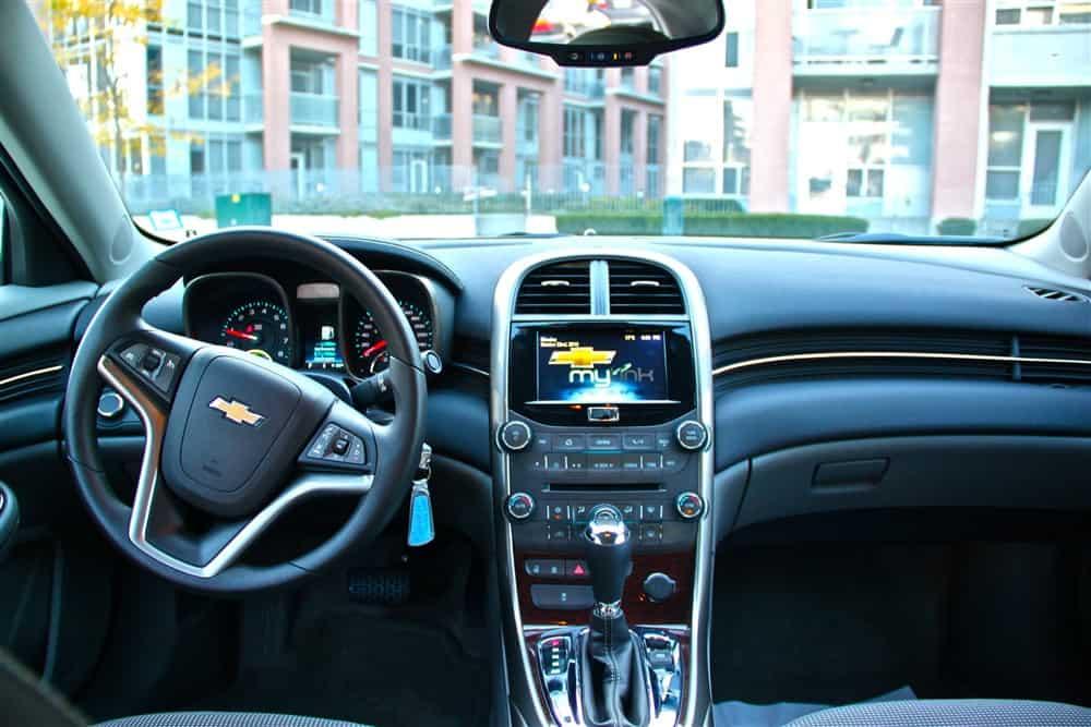 2013 Chevrolet Malibu Eco Interior
