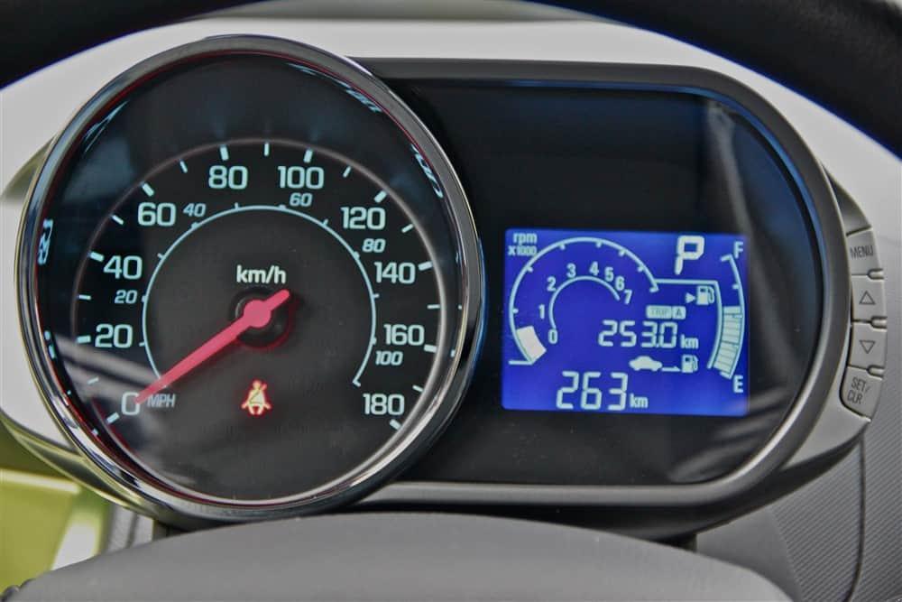 2013 Chevrolet Spark Instrument Cluster