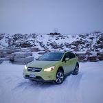 2014 Subaru XV Crosstrek Hybrid front 1/4