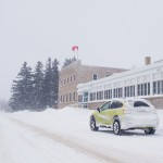 2014 Subaru XV Crosstrek Hybrid rear 1/4
