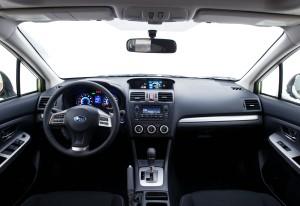 2014 Subaru XV Crosstrek Hybrid interior