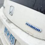 2013 Honda CR-Z rear badges