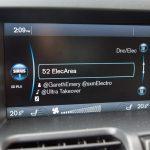 2014 Volvo XC60 T6 Platinum navigation screen