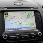 2014 Kia Forté SX Sedan GPS and infotainment screen