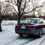 2014 Honda Accord Hybrid rear 1/4
