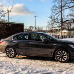 2014 Honda Accord Hybrid side profile