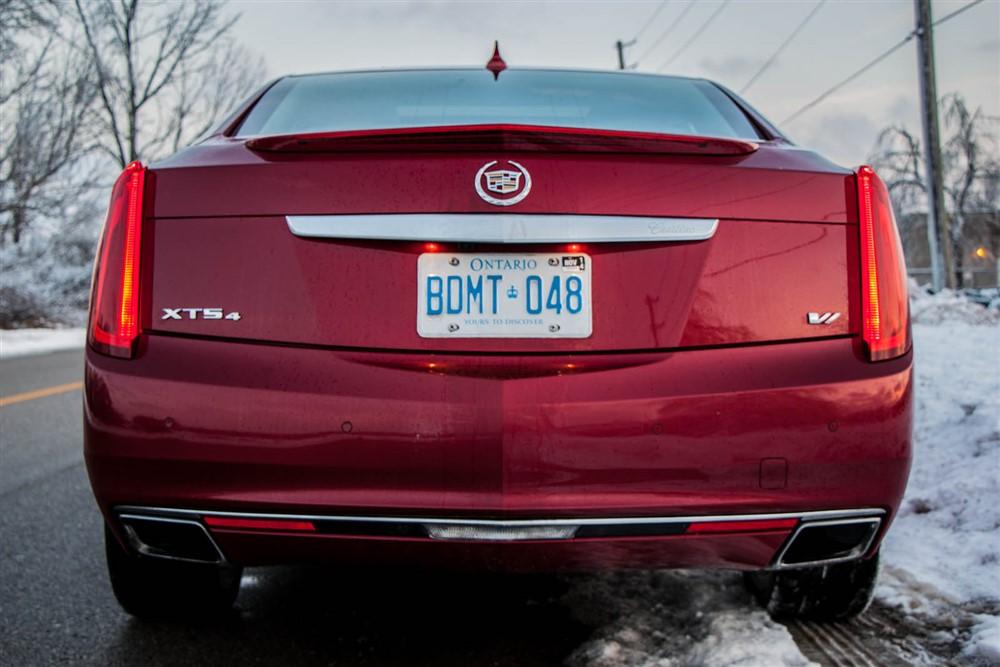 2014 Cadillac XTS Vsport rear