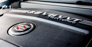 2014 Cadillac XTS Vsport engine bay