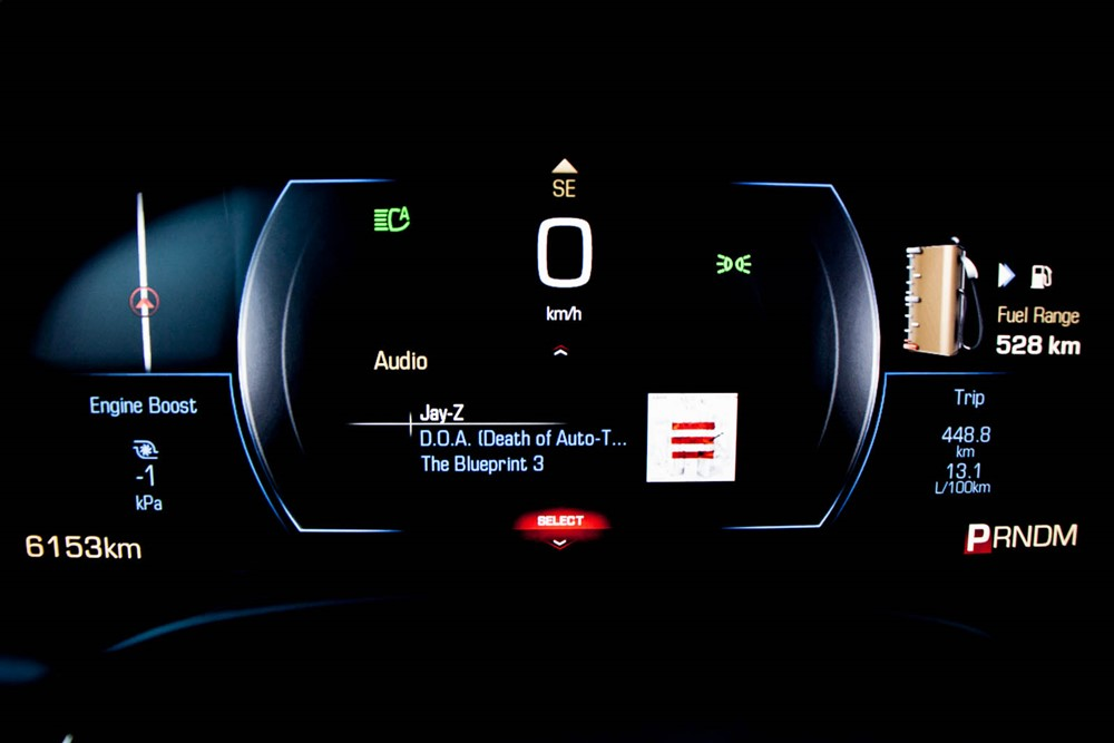 2014 Cadillac XTS Vsport instrument cluster