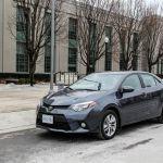 2014 Toyota Corolla Eco front 1/4