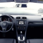 2014 Volkswagen Golf Sportwagen interior