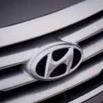 2014 Hyundai Sonata 2.0T grille badge