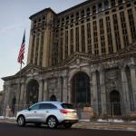 2014 Acura MDX Elite rear 1/4