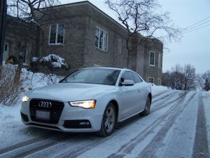 2014 Audi A5 2.0T front 1/4