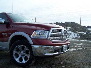 2014 Ram 1500 Laramie front right 1/4