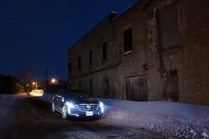2014 Cadillac CTS 3.6 front 1/4