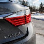 2014 Lexus ES350 taillight and emblem