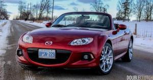 2014 Mazda MX-5 GT top down