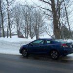 2014 Honda Civic Coupe side profile