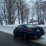 2014 Honda Civic Coupe rear 1/4