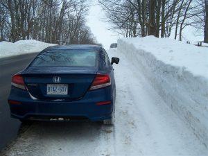 2014 Honda Civic Coupe rear