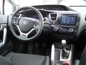 2014 Honda Civic Coupe cockpit