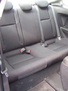 2014 Honda Civic Coupe rear seat