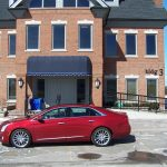 2014 Cadillac XTS Vsport side profile