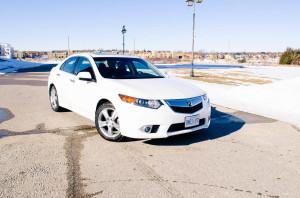 2014 Acura TSX Premium front 1/4