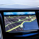 2014 Cadillac SRX navigation screen