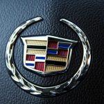 2014 Cadillac SRX steering wheel logo