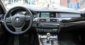 2014 BMW 535d xDrive interior