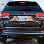 2014 Jeep Grand Cherokee EcoDiesel rear