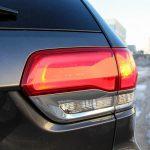 2014 Jeep Grand Cherokee EcoDiesel taillight