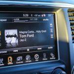 2014 Jeep Grand Cherokee EcoDiesel stereo display