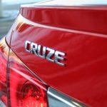 2014 Chevrolet Cruze RS rear emblem