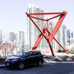 2014 Toyota RAV4 LE in skyline