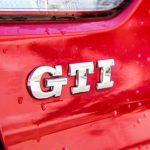 A Farewell: Mk VI Volkswagen GTI rear emblem