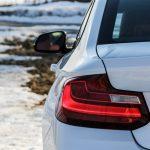 2014 BMW 228i Sport taillight