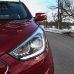 2014 Hyundai Tucson Limited headlight